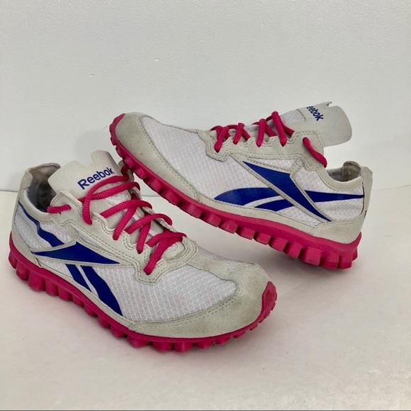 vollständige Palette von Spezifikationen weit verbreitet geschickte Herstellung Reebok Real Flex Running Tennis Shoes 5.5